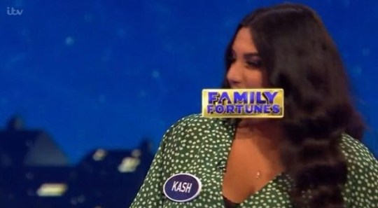 Kash on Family Fortunes