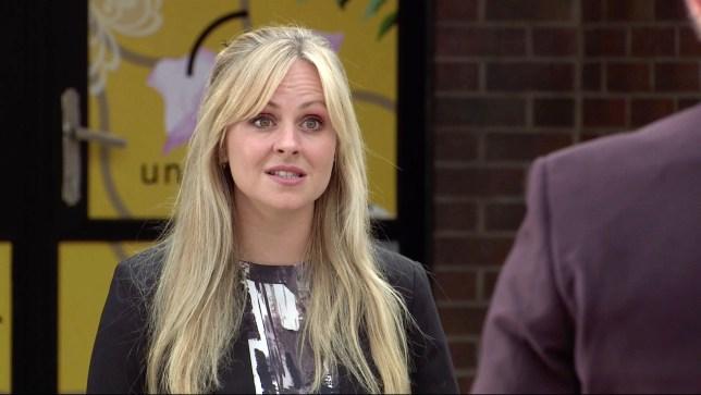 Tina O'Brien as Sarah Platt Coronation Street