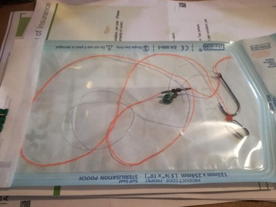 Vets urge caution on waterside dog walks after greyhound swallows fishing hook