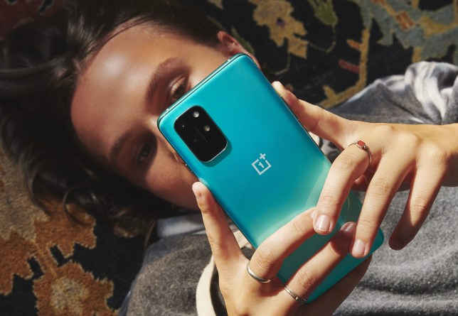 The OnePlus 8T is the Chinese company's fourth phone of the year (OnePlus)