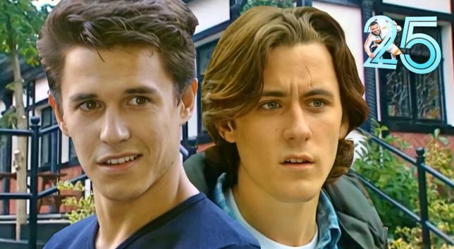 Kurt and Tony in Hollyoaks