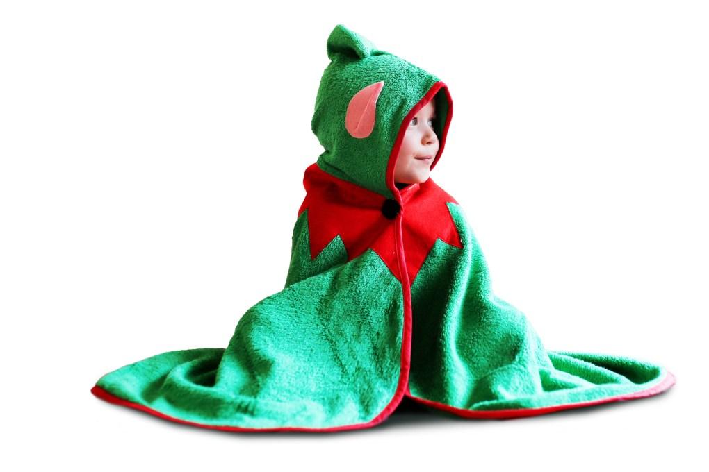 Cuddledry Christmas Elf Towel