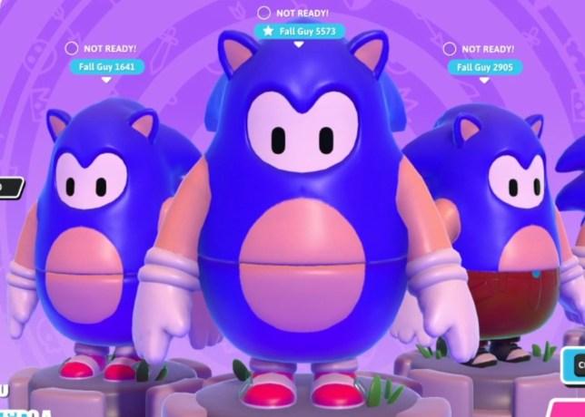 Sonic the Hedgehog Fall Guys