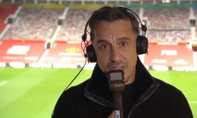 Gary Neville called Manchester United's players 'spineless' after their defeat to Spurs