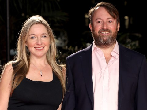 Who is David Mitchell's wife Victoria Coren Mitchell and how did they meet?