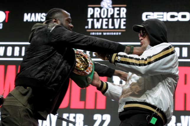 Deontay Wilder sends message to 'coward b*tch' Tyson Fury and claims he cheated in rematch