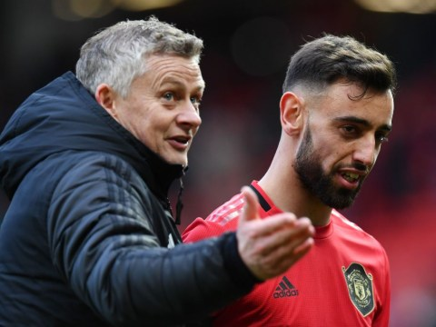 Bruno Fernandes camp respond to bust-up rumours with Ole Gunnar Solskjaer at Man Utd