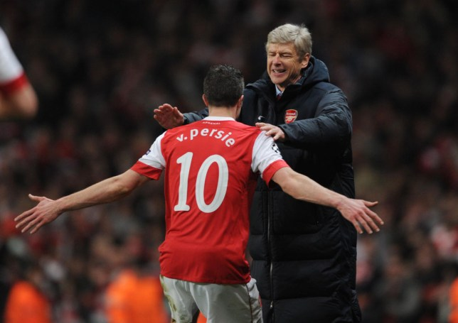 Arsene Wenger reluctantly sold Robin van Persie to Manchester United in the summer of 2012