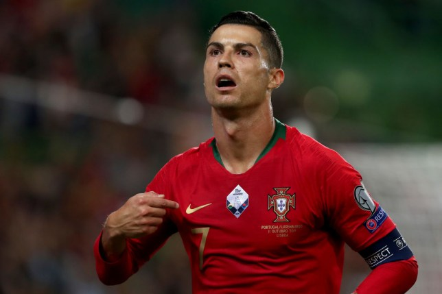 Cristiano Ronaldo tested positive for coronavirus last week while on international duty with Portugal