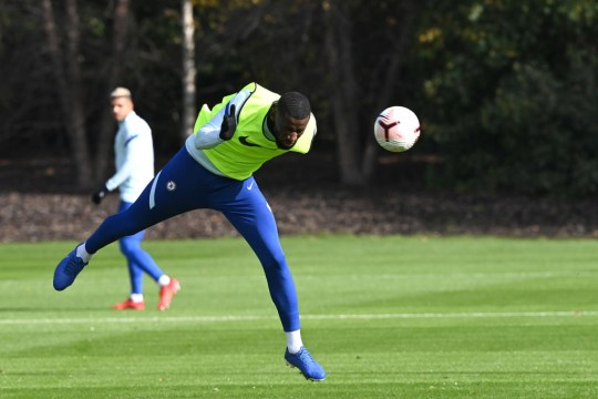 Rudiger has fallen down the pecking order of centre-backs at Chelsea