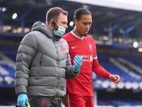 Liverpool manager Jurgen Klopp provides Virgil van Dijk injury update after Jordan Pickford tackle