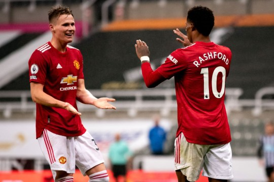 The Red Devils proved too strong for Newcastle