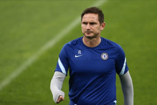 Chelsea's English coach Frank Lampard leads a training session of his team at the Krasnodar stadium in Krasnodar on October 27, 2020 on the eve of the UEFA Champions League football match between Krasnodar and Chelsea.