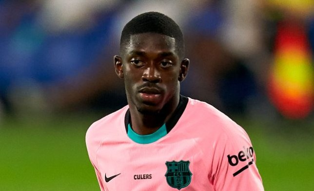 Ousmane Dembele is considering his future after Manchester United's approach