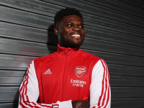 Thomas Partey names five Arsenal legends he idolised – including Patrick Vieira and Thierry Henry