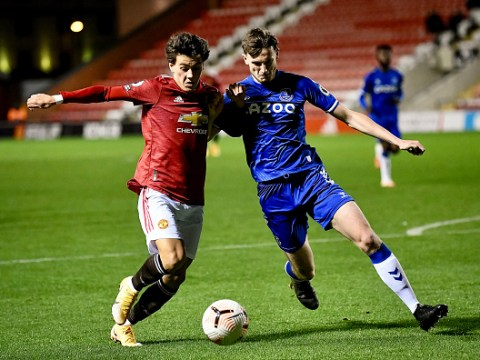 Man Utd coach reacts to  Facundo Pellistri debut for the Under-23s