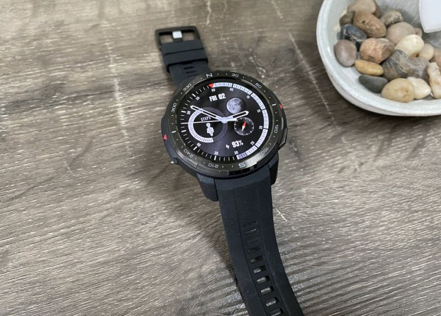The Honor Watch is a rugged smartwatch from the Huawei sub-brand (Metro.co.uk)
