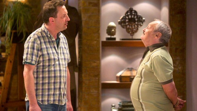 Lee Mack and Bobby Ball on Not Going Out
