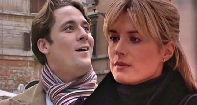Mandy and Tony in Hollyoaks