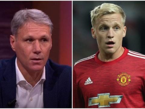 Marco van Basten tells Donny van de Beek he should not have signed for Manchester United