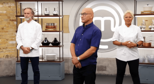 Marcus Wareing, Gregg Wallace and Monica Galetti on MasterChef: The Professionals