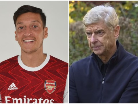 Arsene Wenger sends message to Mesut Ozil as Arsenal leave midfielder out of Premier League squad