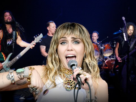 Miley Cyrus reveals she's working on an album of Metallica covers and we are so ready for it