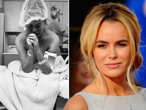 Amanda Holden remembers stillborn son Theo after Chrissy Teigen and John Legend suffer miscarriage