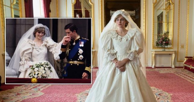 Emma Corrin The Crown as Princess Diana