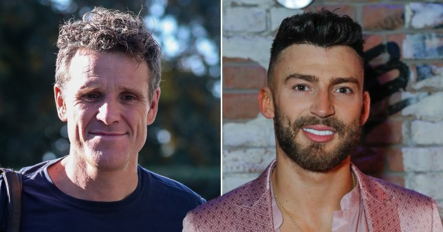 James Cracknell and Jake Quickenden
