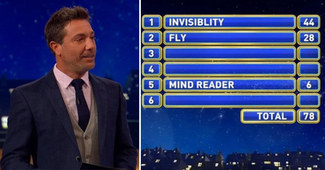 Family Fortunes fans \'irrationally angry\' after spotting frustrating spelling blunder