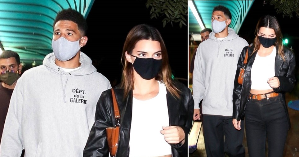 Kendall Jenner and Devin Booker out together in West Hollywood