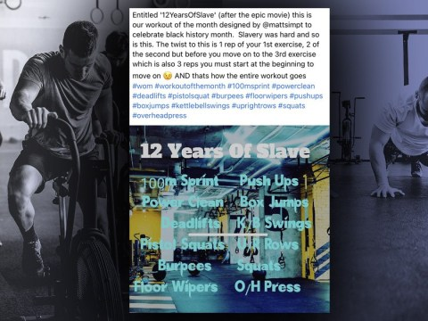 PureGym slammed for launching slavery-based workout for Black History Month