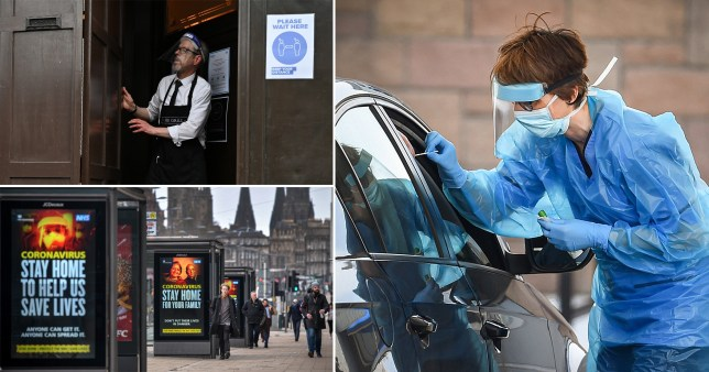 A two-week lockdown could be imposed in Scotland from Friday at 7pm.