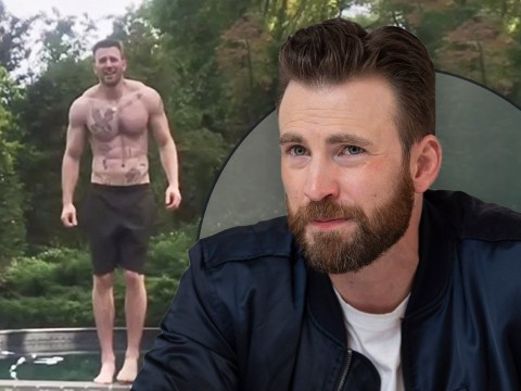 Chris Evans fans only now realising Avengers star is covered in tattoos and the thirst is real