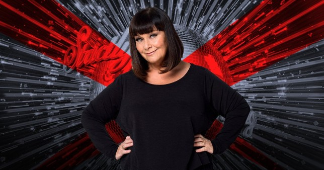 Dawn French on Strictly Come Dancing