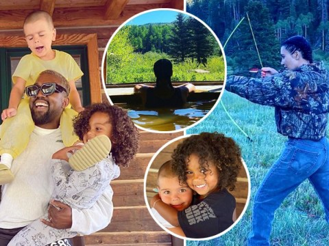 Inside Kim Kardashian and Kanye West's Colorado glamping getaway with archery, bike rides and river strolls