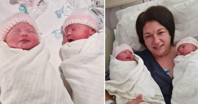 Ava and Amelia were born this week