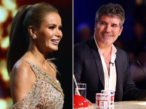 Amanda Holden pays tribute to Simon Cowell after he misses BGT final