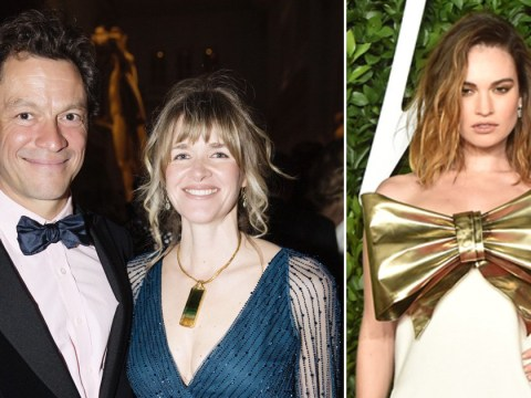 Dominic West's wife Catherine 'devastated' as pictures emerge of him 'kissing' Lily James: 'She thought they had a good marriage'