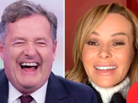 Piers Morgan recalls moment Amanda Holden accidentally flashed his 17-year-old son