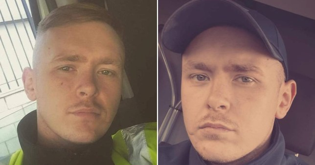 Composition of two pictures of Karl McCartney who was called a 'chav' by Drive2Recruit
