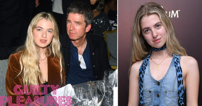Noel Gallagher with daughter Anais Gallagher
