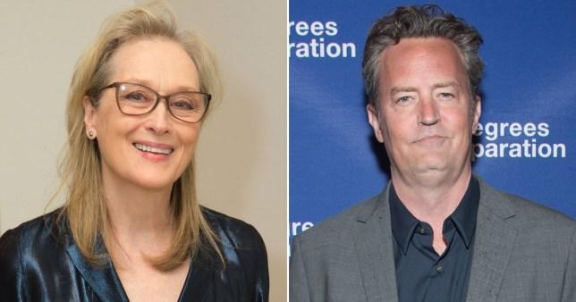 Meryl Streep and Matthew Perry