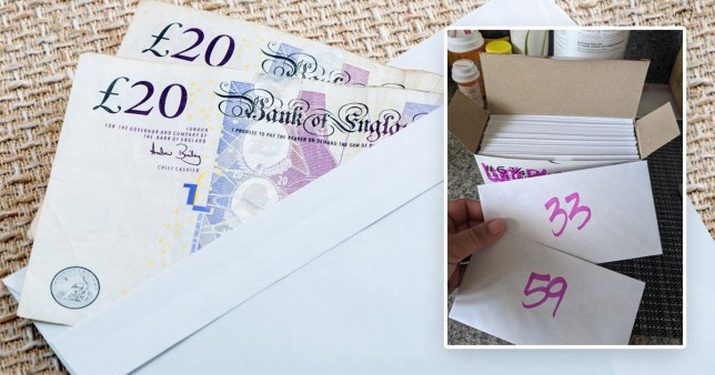 envelope savings challenge