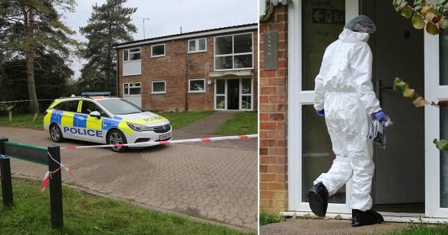 Crime scene in Kensworth