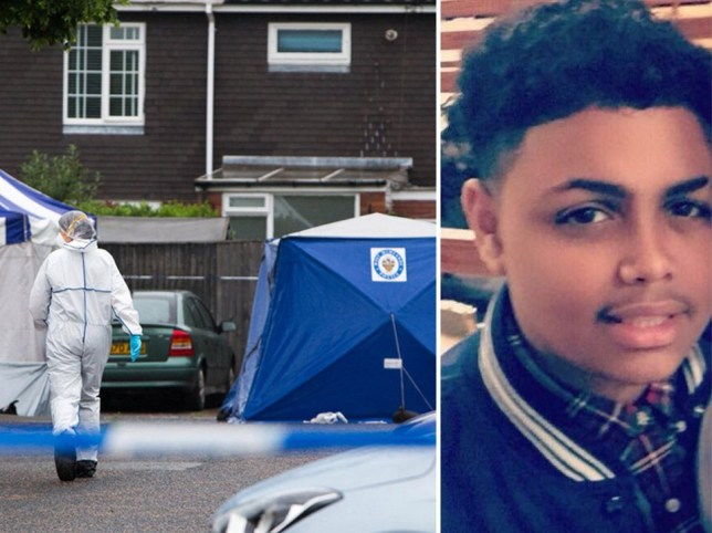 Boy, 15, stabbed more than 40 times