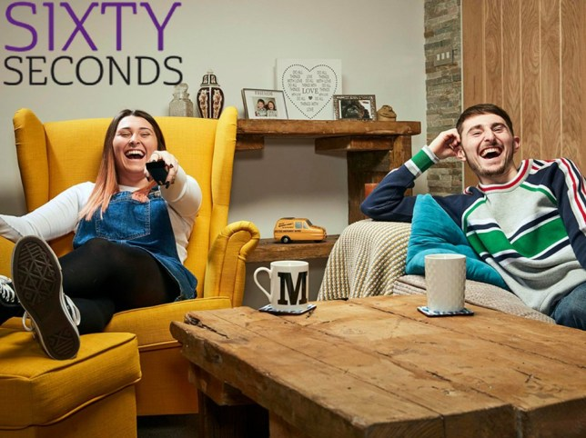 Pete and Sophie Gogglebox - Sixty Seconds