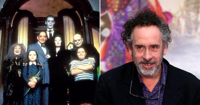 Tim Burton Addams family