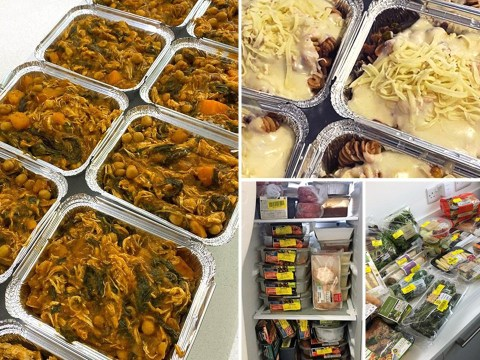 Shopper slashes her weekly food bill by batch cooking two weeks' worth of dinners for £5